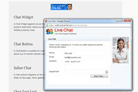 Setting Chat Data