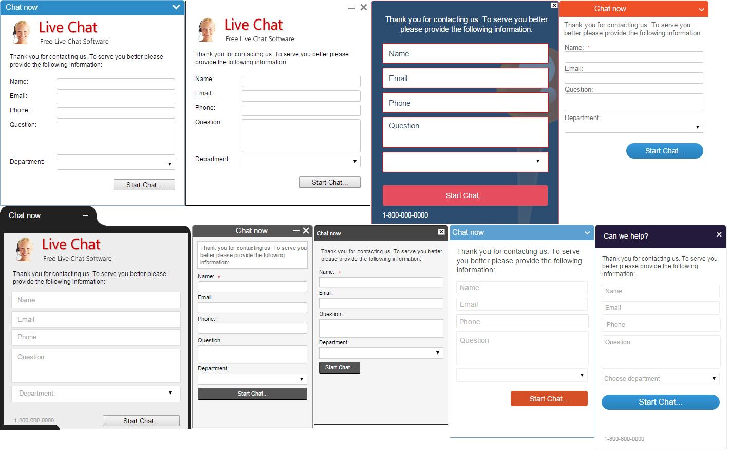 Live chat Screenshots | Live chat Software Screenshots | Live ...